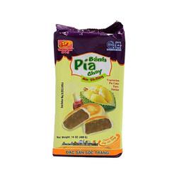 Ciasteczka PIA VEGE o smaku duriana 400g | BÁNH PÍA CHAY MÔN -  SẦU RIÊNG  400g x 30/krt ( 91201)