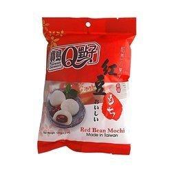 Ciasteczka mochi z czerwonej fasoli TAIWAN DESSERT  120g | Banh Mochi Dau Do 120g x 24szt/krt