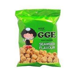 Krakersy GGE pszenne o smaku wodorostów 80g   Chipsy GGE Lua Mi Vi Rong Bien 80g x 15szt/kar