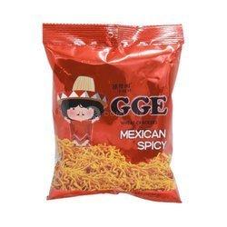 Krakersy pszenne Mexico spicy GGE  80g   Chipsy Lua Mi Vi Cay Mexico 80g x 15szt/krt