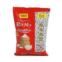 Mąka z ryżu kleistego MIKKO – 1kg   Bot Nep Huong Xua 1kg x 10szt/krt