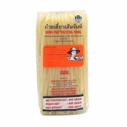 Makaron Ryżowy FARMER 5mm  400g | Pho Pad Thai 5mm 400gx34szt