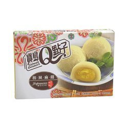 Mochi o smaku duriana TAIWAN DESSERT 210g   Mochi Hop Vi Sau Rieng 210g x 24szt/krt