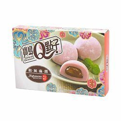 Mochi z taro TAIWAN DESSERT 210g | Banh Mochi Khoai Mon 210g x 24opak/krt