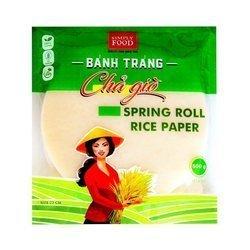 Papier Ryżowy do Spring Rolls Simply Food  500g   Banh da nem Binh Tay  500gx30szt
