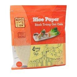 Papier ryżowy do swieżych sajgonek 345g   Banh Trang Goi Cuon  Huong Vi Viet 345g x 48szt/krt