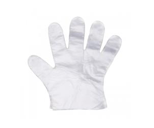 Rękawiczki foliowe size L 100szt/opak   Gang Tay Nilong Size L 100szt/opoak