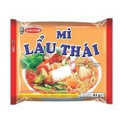 Zupka błyskawiczna z owocami morza 81g x 30szt/krt | Mi Lau Thai Hai San 81g x 30szt/krt