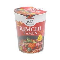 Zupka ramen z kimchI JONGGA 85g   Mi Hop Kimchi Ramen JONGGA 85g x 24szt/kar